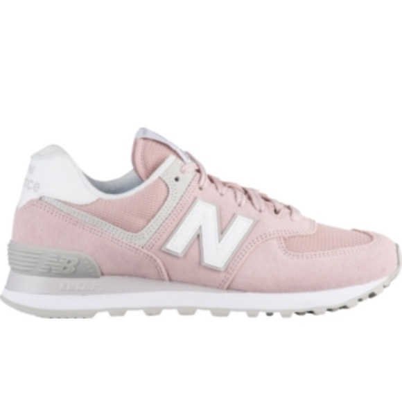 new balance 574 light pink